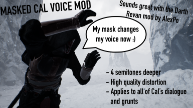 Cal Voice Changer (NEW OLDER CAL VOICE)