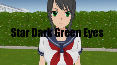 Star Dark Green Eyes