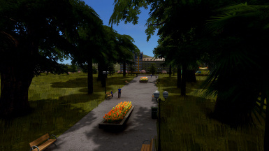 5x8 Shady Park and walkway