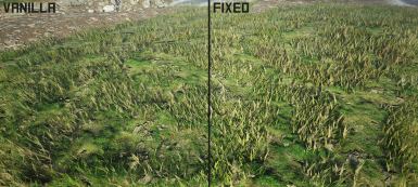 Grass dithering fix
