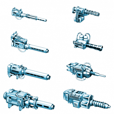 TimberWulf's Apocryphal Weapons pack