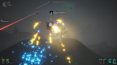 weapon and explosion effects