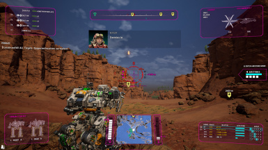 MWO Replacement Style HUD