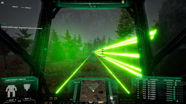 Improved Laser Beam Visuals