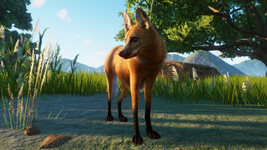 Maned Wolf - New Species (Updated for 1.6)