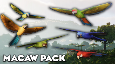 Tropical Bird Prop Pack - Updated for 1.6 (New Patch Adds Toucans and Budgies)