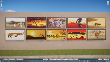 African Theme Posters