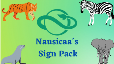 (1.7) Nausicaa Sign pack (Complete collection)