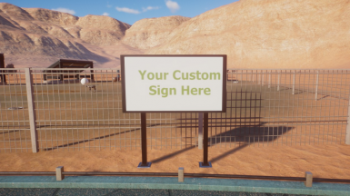 Planet Zoo EZ Sign Maker