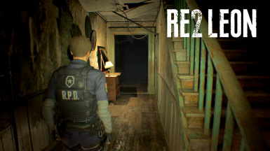 RE2 Leon over Ethan