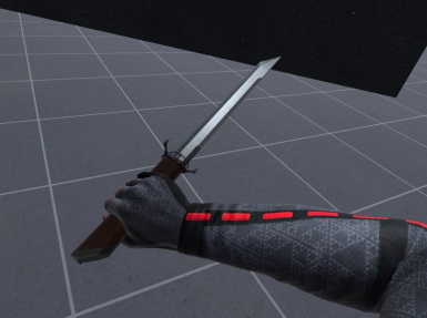Corvo's Folding Blade from Dishonored