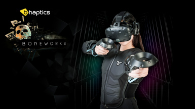 bHaptics Tactsuit - Boneworks Integration