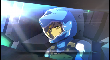 GGCR - Tieria Erde (movie) - Cyan pilotsuit
