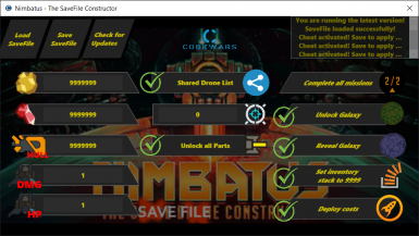 Nimbatus - The Save File Constructor