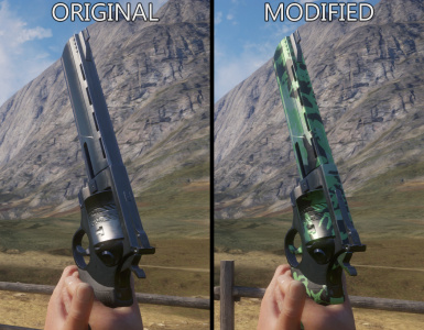 Re-Textured Revolver 454 (Basic Camo)