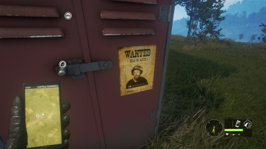 FUNNY TK WANTED POSTER