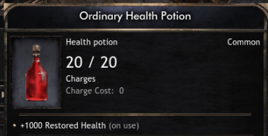 Infinite potions