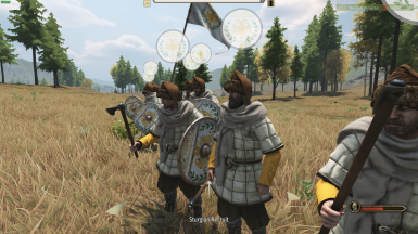 Sturgian Recruits (Only) have a chance to spawn with a shield.
