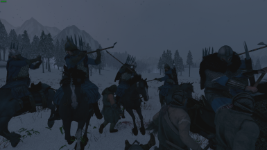 Brigands attacking Looters