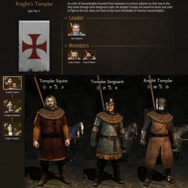 Recruitable Native and Custom Minor Factions