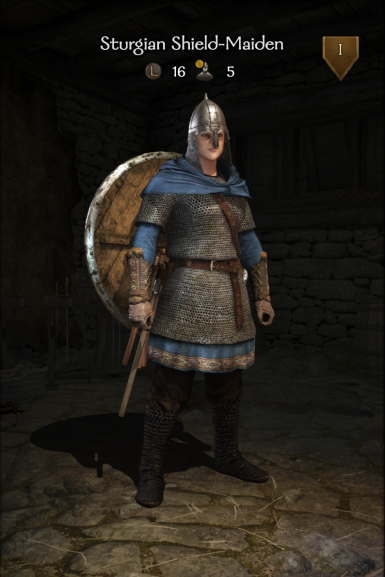 Sturgian Shield-Maiden