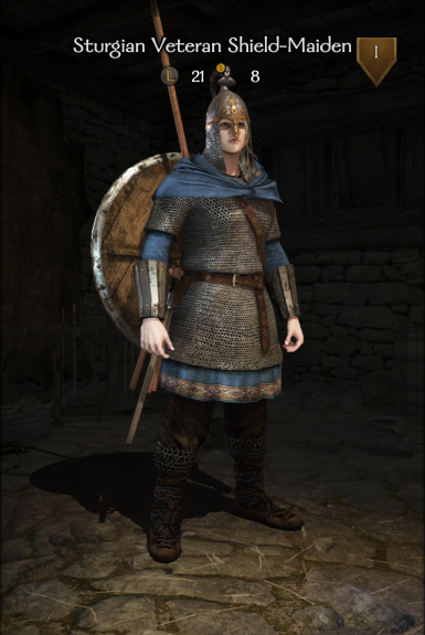Sturgian Veteran Shield-Maiden