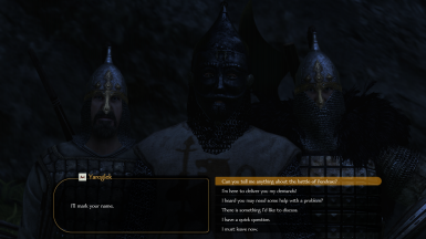Each noble has different armor and equipment