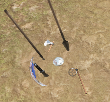 Retrievable Throwing Weapons and Throwing Spear Aim Fix