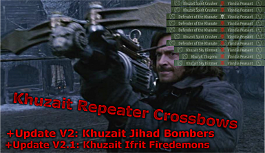 ATC - Khuzait Repeater Crossbows - Jihadist - and Firedemons
