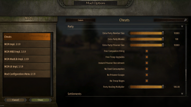Cheats Overview (v.1.4)