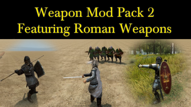 BestMods168 Weapon Pack 2 Featuring Roman Weapons