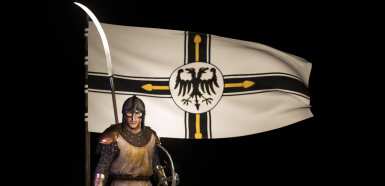 Teutonic Knights Order Flag - Bannercode