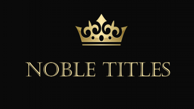 Noble Titles