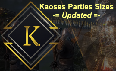 Kaoses Parties Sizes - Updated