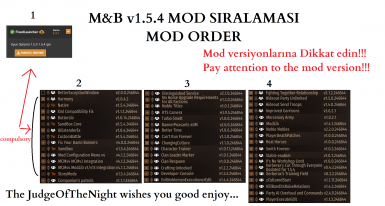 Mod Order For Bannerlord v1.5.4