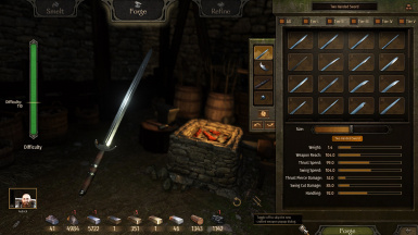 Crafting Screen Skip New Weapon Dialog Toggle