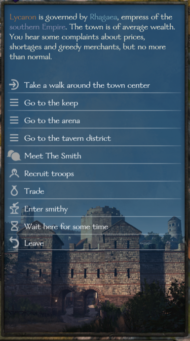 New town event