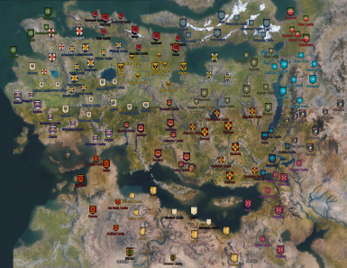 Example Usage / Full Map , Faction Banners only