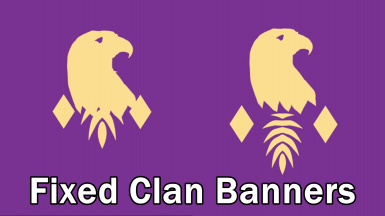 Fixed Clan Banners