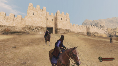 Enter Castle and Town with a Horse