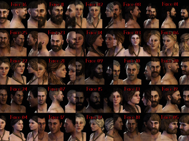 Dyltom's BeHuman Character Pack Red