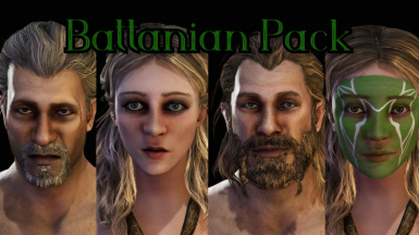 Dyltom's BeHuman Battanian Character Pack