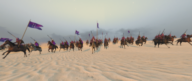 A cavalry charge feels even more frightening now