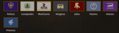 Unique Clan Banners and Modified Imperial Uniform Colours (For Kingdom Color Changer)