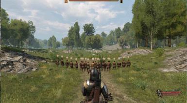 Battle with javelins equiped