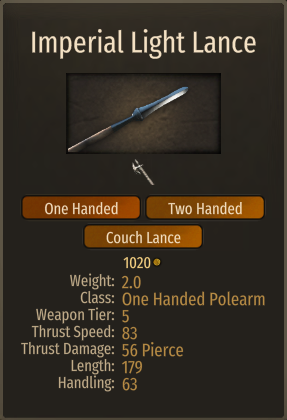 Realistic Weapons - Spear Rebalance