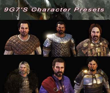 All in one Male Presets