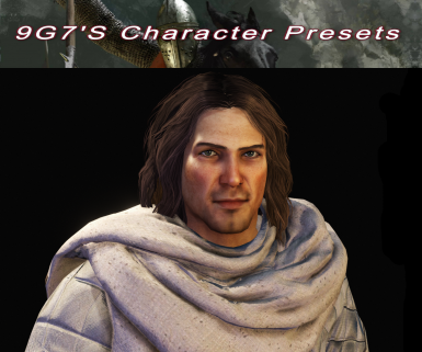 Robric - 7 Male and 6 Female Character Presets and Custom Wanderer