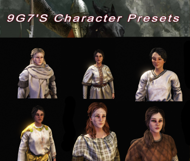 All in one Female Presets