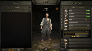 Upgradable Bandits and Looters (Without Disciplinary Perk)
